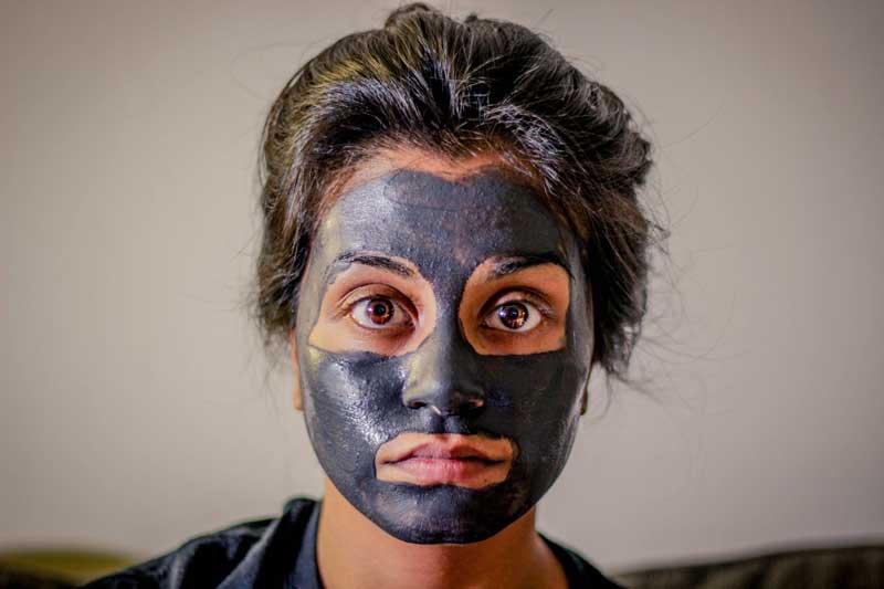 maska za mitisere od gline