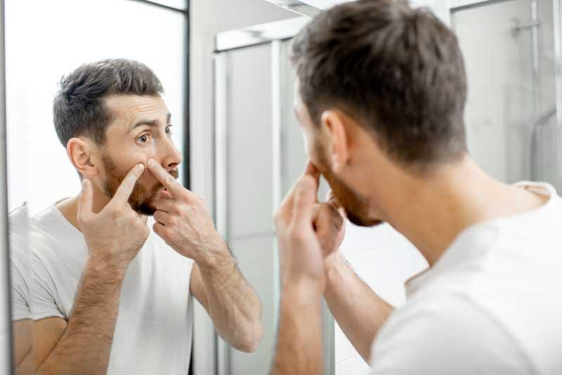 bubuljice kod odraslih muškaraca