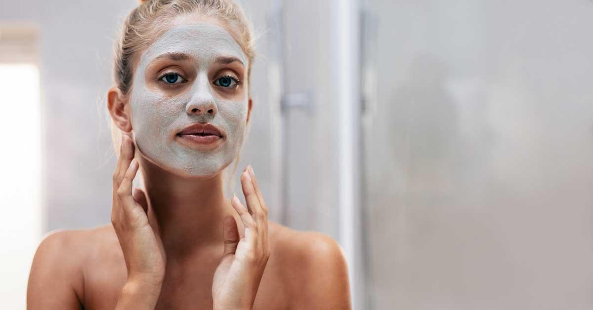 maska za lice od zeolita