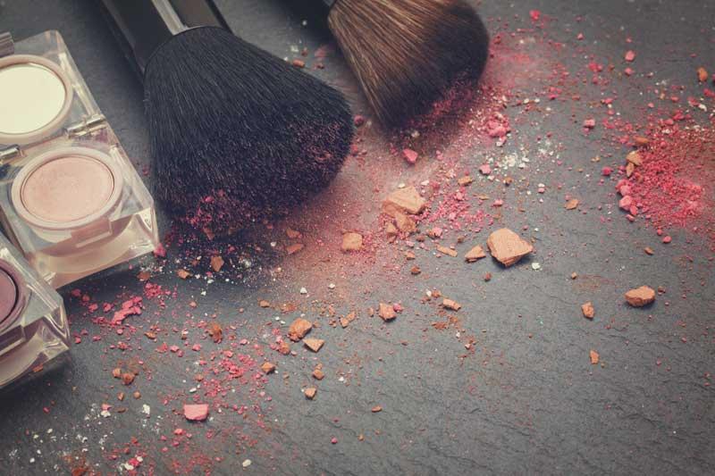 čišćenje četkica za šminku