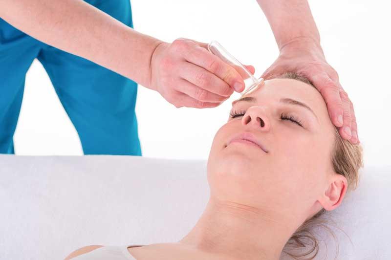 face cupping masaža