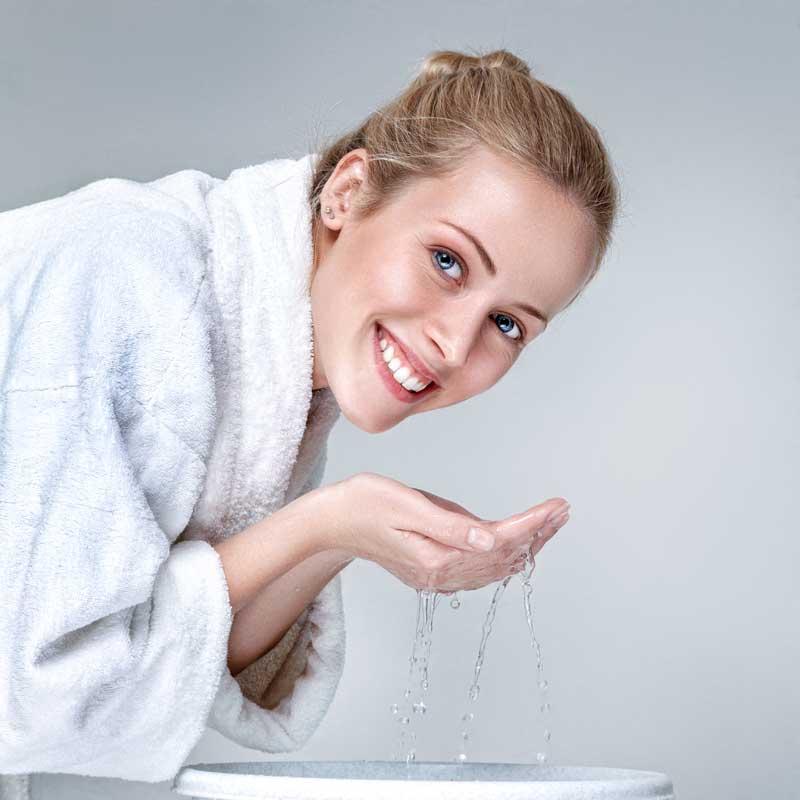 čišćenje lica u dvadesetim