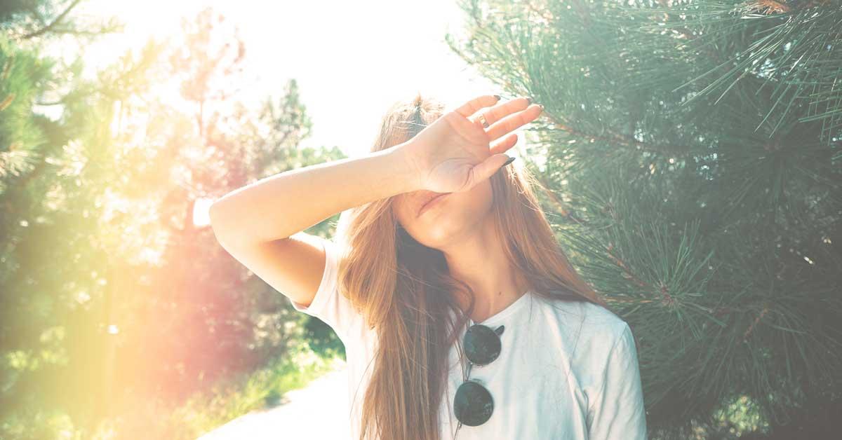 fotosenzitivnost lica