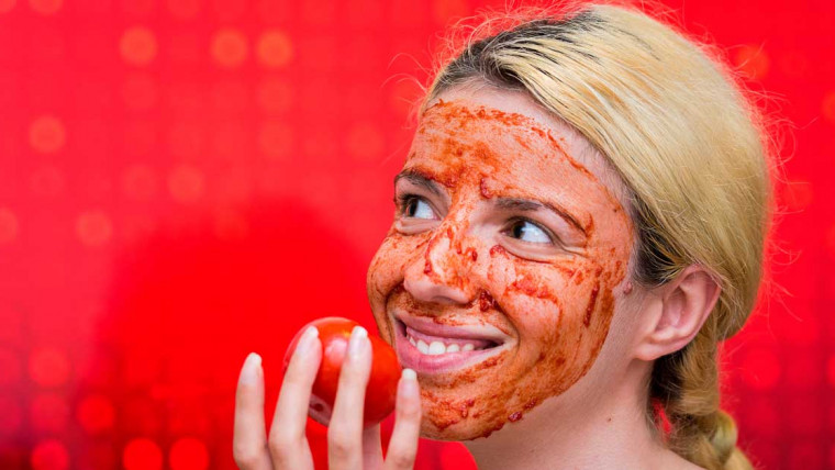 paradajz za lice