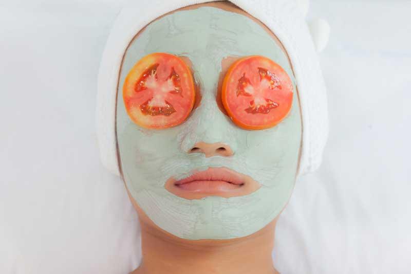 paradajz za kožu lica