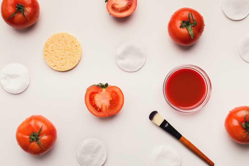 maska od paradajza za lice