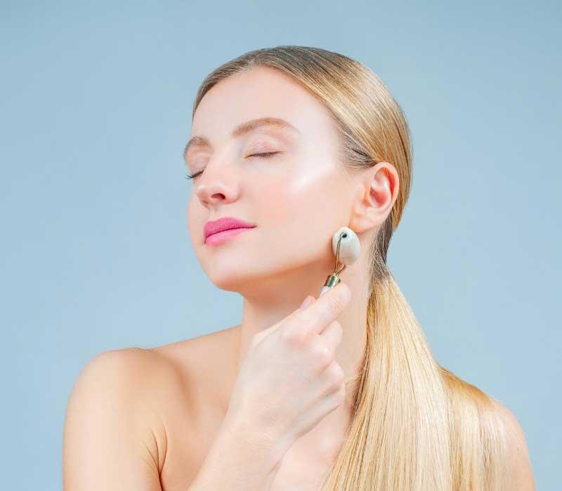 upotreba masažera za lice