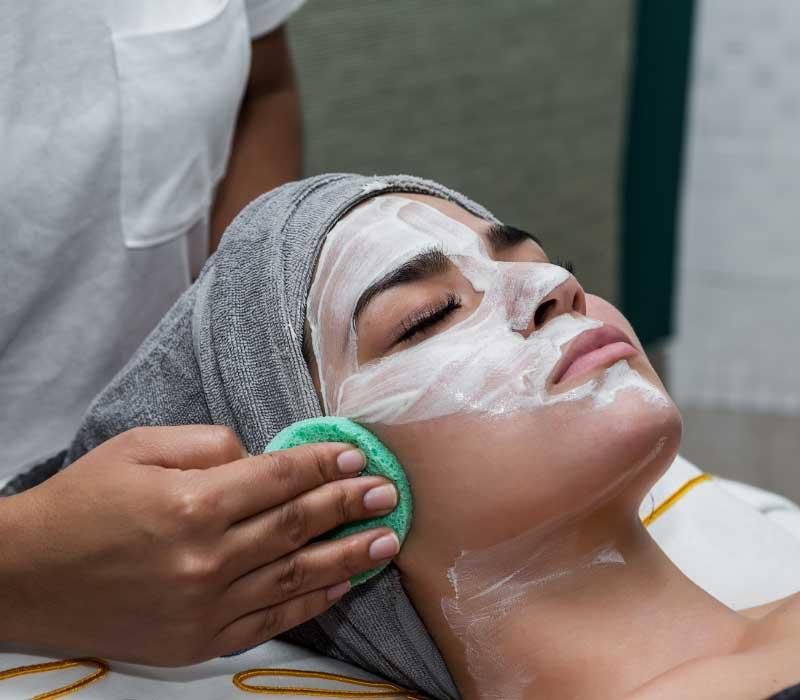 čišćenje lica maskom