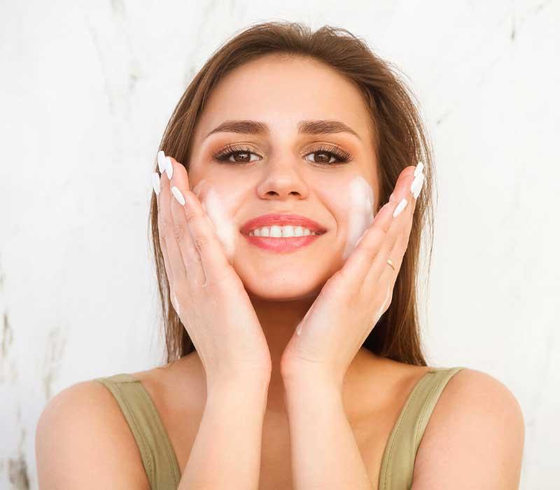 čišćenje lica penom
