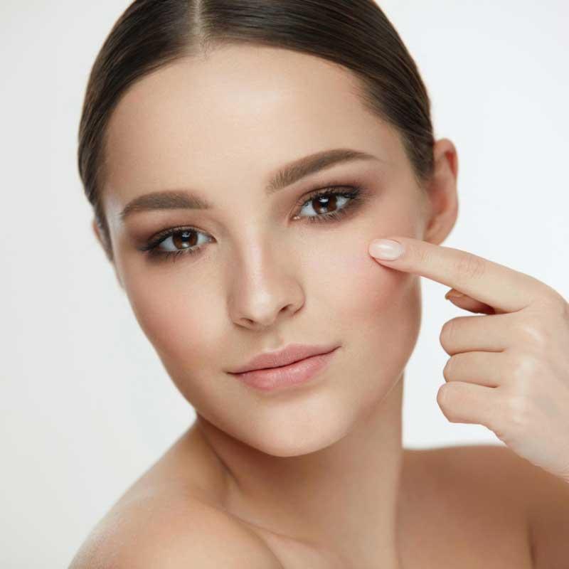 normalna koža lica karakteristike