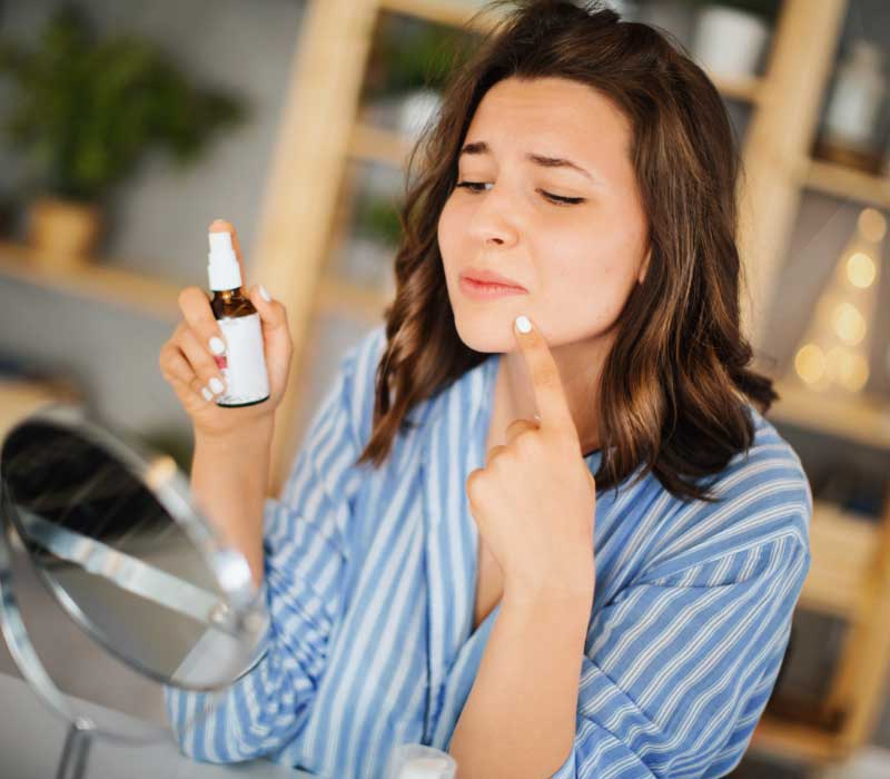 rešenje za bubuljice pred menstruaciju