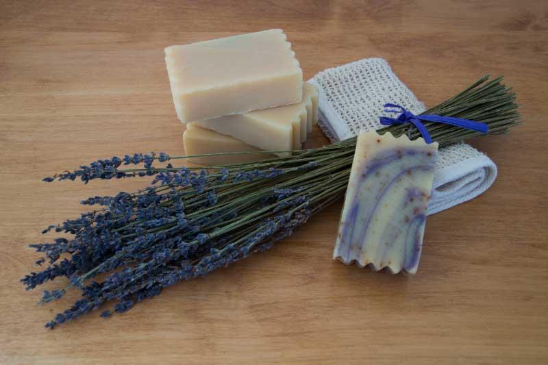 koziji sapun za lice sa lavandom