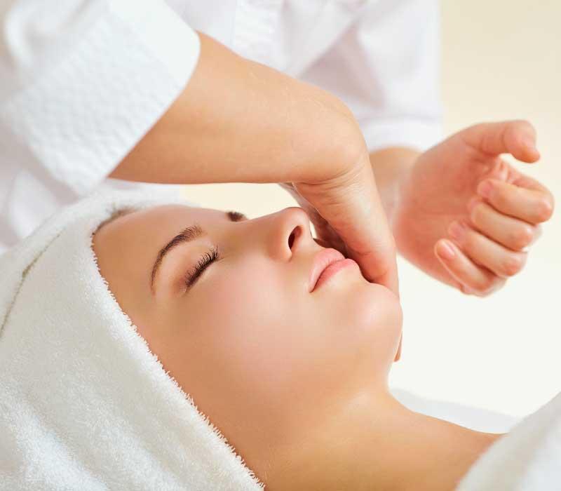 limfna masaža lica