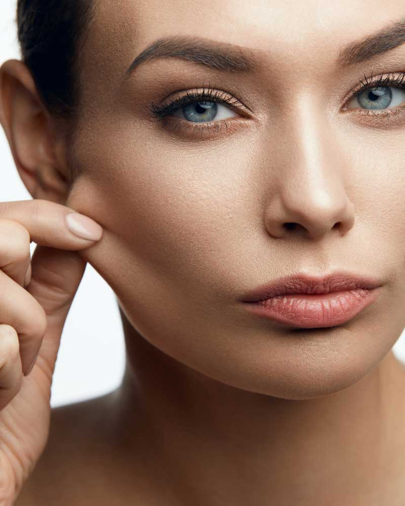 elastin na koži lica
