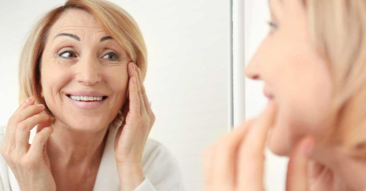 koža u menopauzi