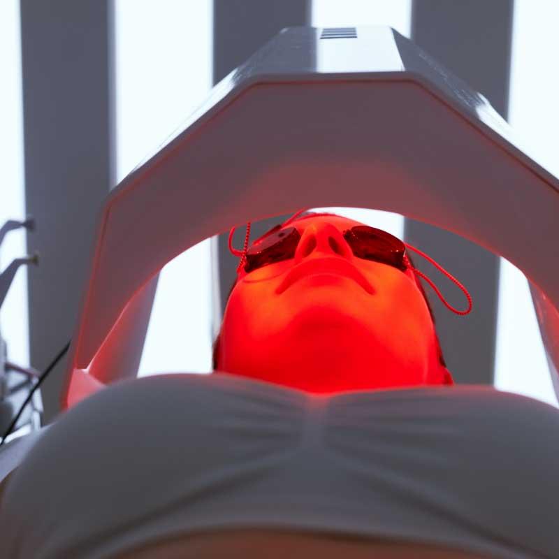 infracrveno svetlo za lice