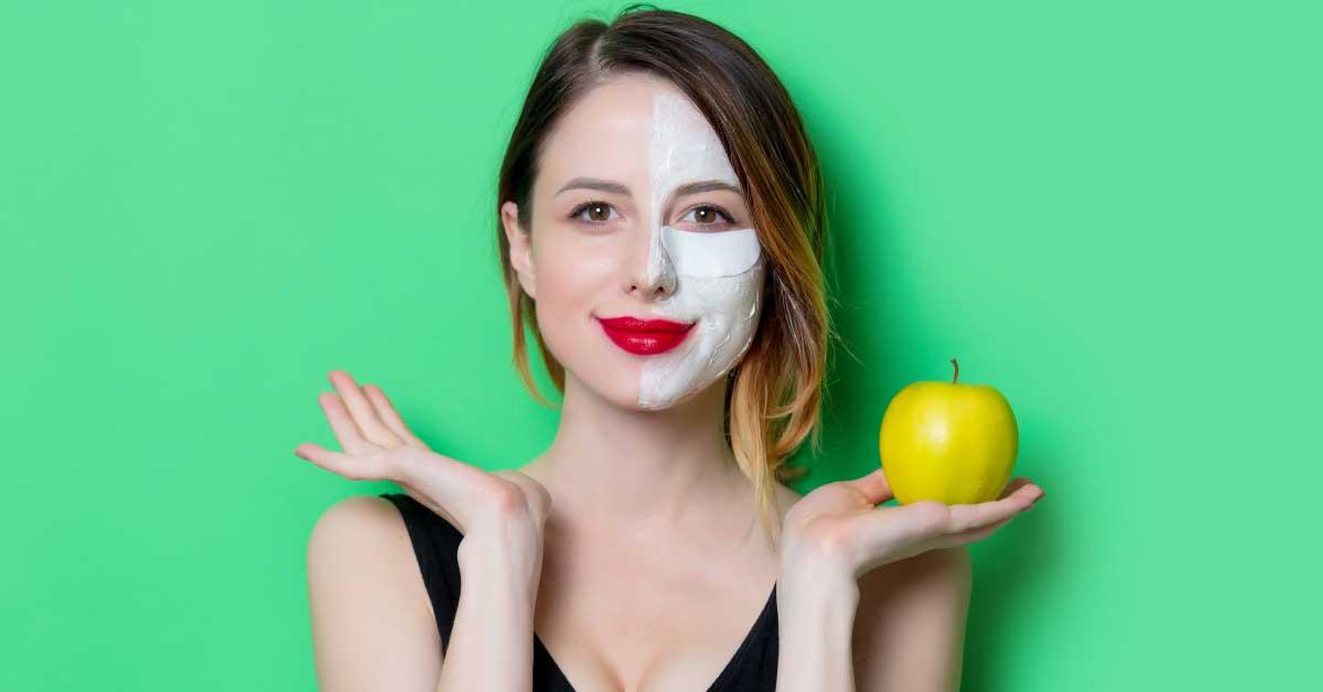 maska za lice od jabuke