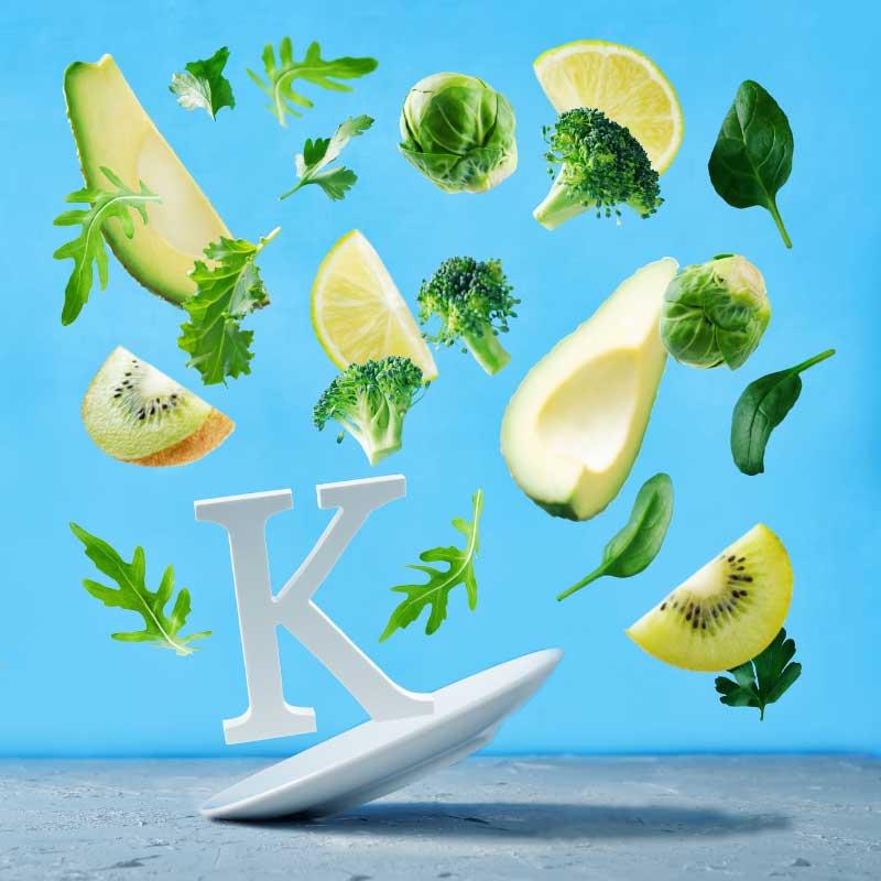 vitamin k protiv podočnjaka