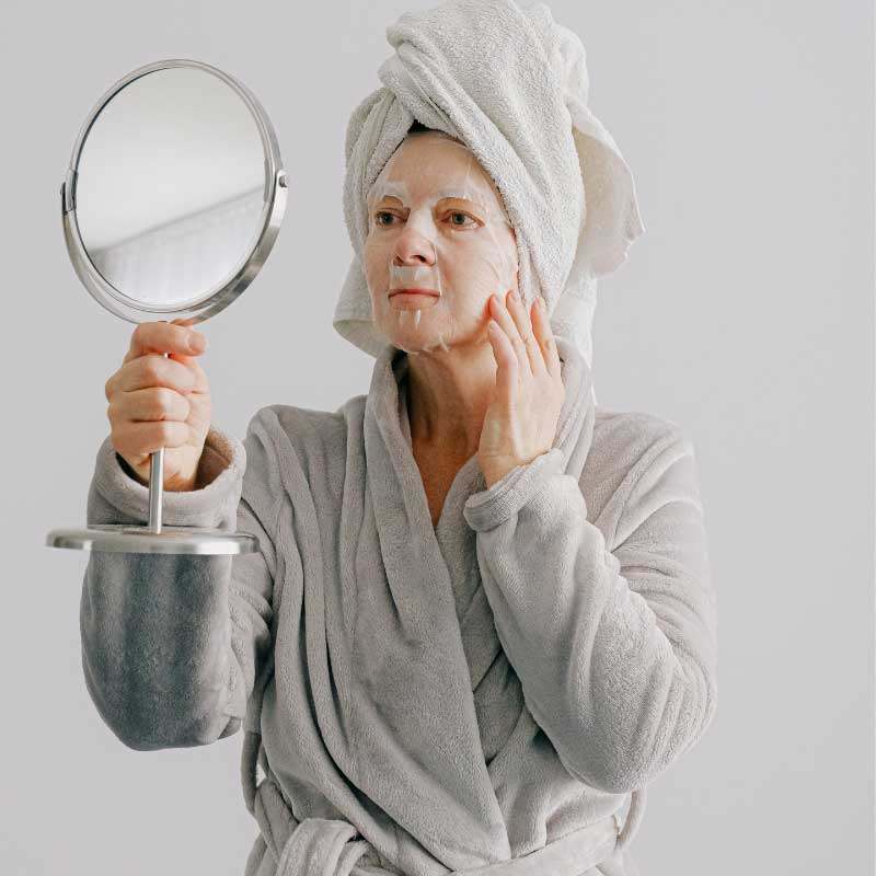 maska za menopauzalne akne