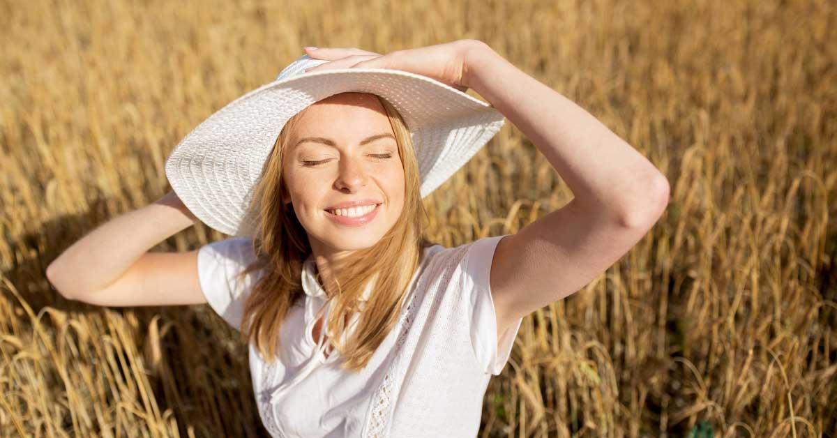 bubuljice od sunca na licu