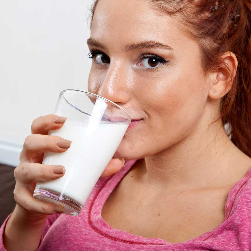 mleko i akne