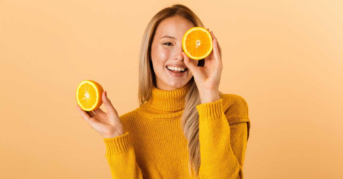 pomorandža za lice