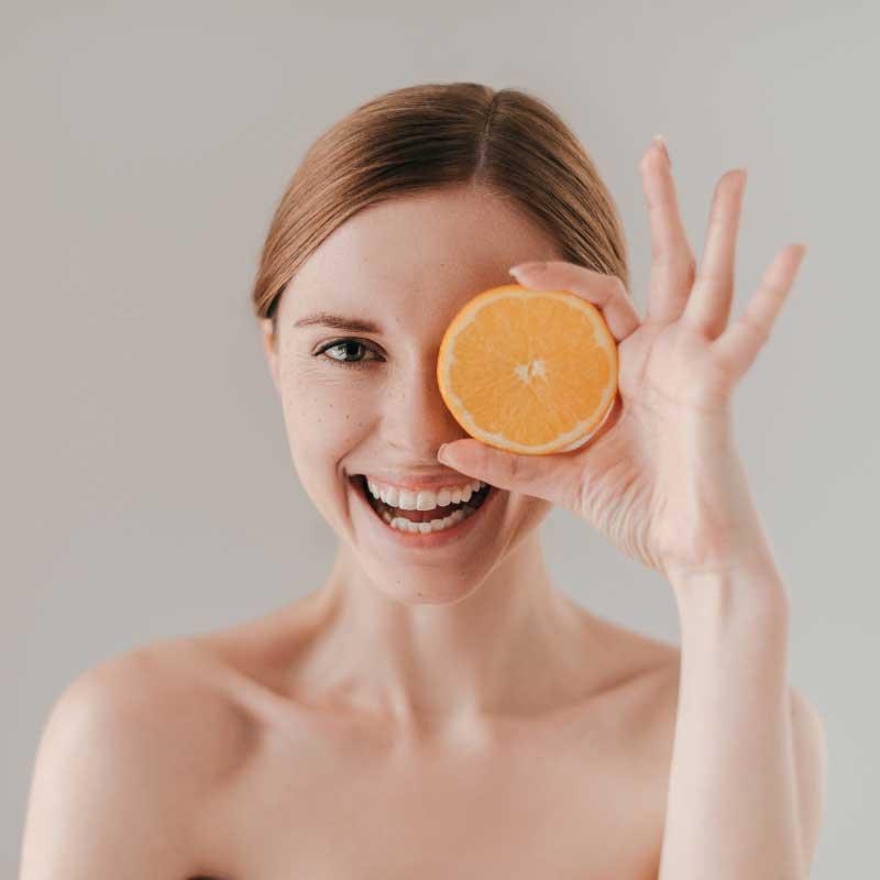 maska od pomorandže za lice