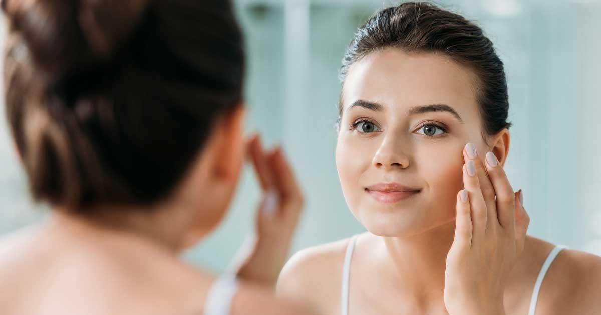 zdrava koža lica