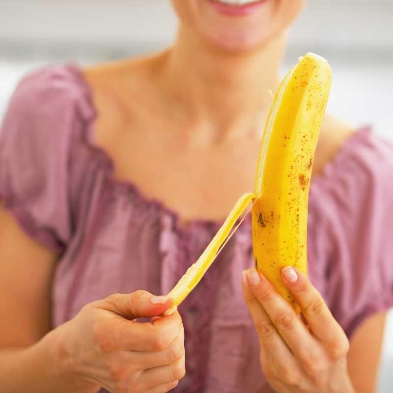 kora od banane protiv podočnjaka