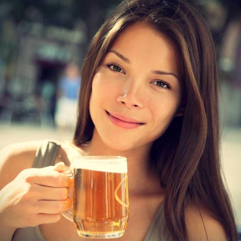 pivo za kožu lica